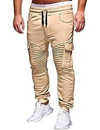 Pantalones De Alicate para Hombres Pantalones De Picadura De Verano Brillante Basicas Pantalones De Deporte para
