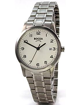 Boccia Damen-Armbanduhr 3258-01