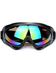 Andux Zone Jagd Airsoft X400 Wind Staubschutz Tactical Schutzbrille-Motorrad Brille GL-04