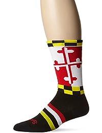 SockGuy LAX Maryland Mens Socks L/XL