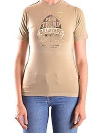 Belstaff Mujer MCBI039017O Verde Algodon T-Shirt