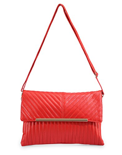 Stylish Pink PU Leather Sling Bag For Women & Girls By Bagris GE0100594