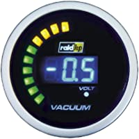 Raid HP 660508 Night Flight Digital - Reloj vacuómetro para coche, color azul