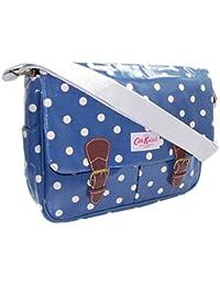 15dd53fa8b98 Cath Kidston Matt Oil Cloth All Day Bag Cross Body Folk Flowers Midnight  Blue