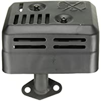 Alamor Silenciador De Escape Con Protector De Calor Para Honda Gx160 200 5.5 6.5 Hp
