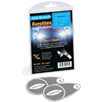 Travelspot Travel Spot Eurolites N92160 Headlamp Adaptors for Driving in Europe