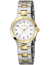 M-WATCH Metal Classic Analog White Dial Women's Watch-WRT.48210.SU