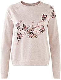 Promod Sweatshirt mit Stickerei