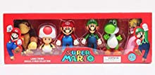 Super Mario Large Figure Special 6 Pack Collection