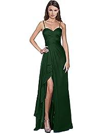 Victory Bridal Damen Glamour Abendkleider Lang Chiffon Brautjungfernkleider  Prom Ballkleider Partykleider Neu 0bc059d879