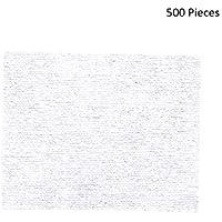 500 unids Toallitas de maquillaje Almohadillas de algodón Almohadillas removedor de maquillaje Almohadillas suaves.