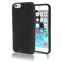 "SKS Distribution® negro silicona neumático Tyre FUNDA / CARCASA / COVER para Apple iPhone 6 4.7"" Inch"