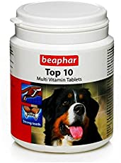 PetSutra Beaphar Top-10 Dog Supplement Tablets (160 Tablets)
