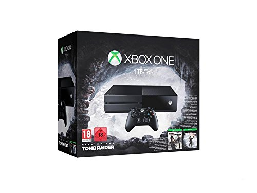 Xbox One - Consola 1 TB + Rise Of The Tomb Raider + Tomb Raider: Definitive Edition