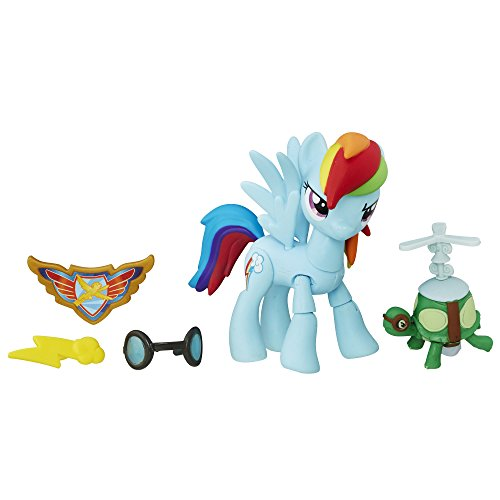 Hasbro My Little Pony B7295ES0 Guardians of Harmony Rainbow Dash, Figur (Dash Rainbow Mlp)