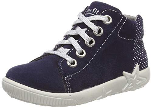 Superfit Baby Mädchen Starlight Sneaker, Blau 80, 23 EU