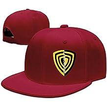huseki Lamborghini + shield2classic Fashion Unisex Gorra de béisbol Adjustable Fitted Hats Red Red
