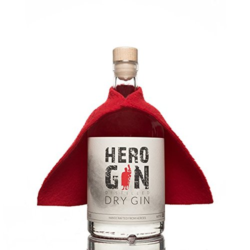 Hero Gin - Distilled Dry Gin - Handcrafted from Heroes (0,5l | 40,5%vol.)