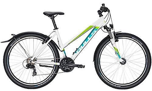 Bulls Sharptail Street 1 Trekking-Bike weiß - Damen Fahrrad 27,5 Zoll - 21 Gang Kettenschaltung