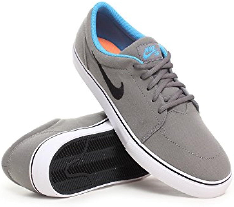 Nike SB Satire Canvas – Ned Base Gris/Negro – Vivid azul, negro, azul y gris