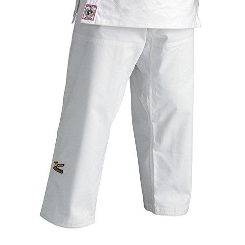 Pantaloni mizuno judo omologato ijf c/lacci bianco (4/2)