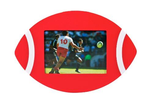 Ballon de Rugby-Cadre Photo-Rouge-Uni