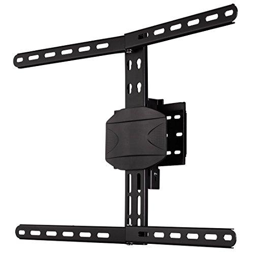 Hama Curved TV Wandhalterung (für extragroße Fernseher, Wandhalter geeignet für 32 - 90 Zoll, 81 - 229 cm Diagonale, max. 50 kg, VESA 200 x 200 bis 600 x 400) schwarz