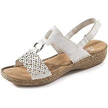 dcd6148ecb02 Suchergebnis auf Amazon.de für  rieker sandale weiss damen