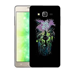 Snoogg Who Are You Designer Protective Back Case Cover For SAMSUNG GALAXY ON7 PRO