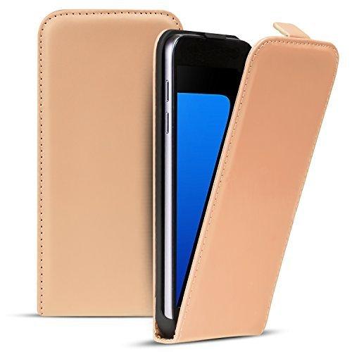 Premium Schutzhülle für - iPhone 5C - Hülle Flip Case Wallet Tasche aus PU Leder Farbe: Grün Creme