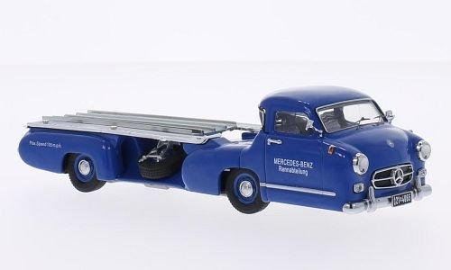 Preisvergleich Produktbild Mercedes Rennwagen-Schnelltransporter, Blaues Wunder, 1954, Modellauto, Fertigmodell, Premium ClassiXXs 1:43