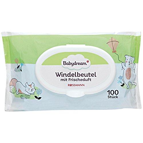 Windelbeutel insgesamt 800 St/ück 4 x 200 St/ück Jumbo-Box