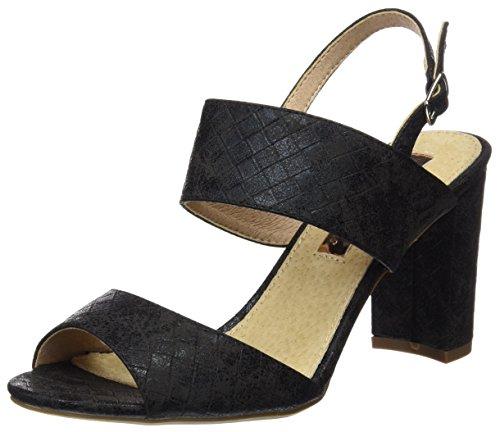 Xti 030582, Sandales Noires Pour Femmes