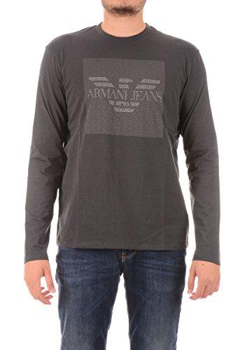 T-shirt Uomo ARMANI JEANS 6X6T88 6J00Z Maglia Maglietta Manica Lunga Moda