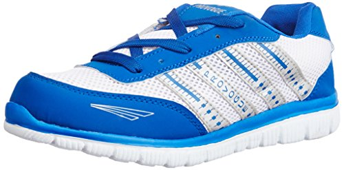 Provogue Men's Grey and Light Blue Mesh Running Shoes - 7 UK