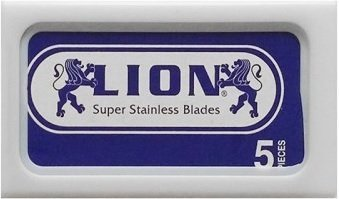 5 lamette Lion Super Stainless (1 pacchetto)