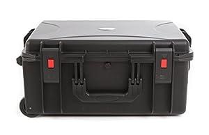 étanche Plastique rigide Multi Purpose Valise à roulettes avec poignée télescopique et roulettes