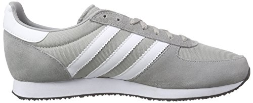 adidas Zx Racer, Baskets Basses Homme, Gris, 43 EU Gris (Mgh Solid Grey/Ftwr White/Core Black)