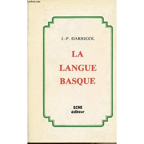 Dissertation critique et apologétique sur la langue basque