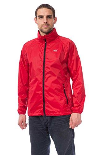 Mac in a Sac Herkunft Unisex wasserdicht Packaway Jacket Lava Red