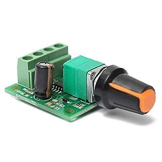 Motor Drehzahlsteller - TOOGOO(R)DC 1.8V 3V 5V 6V 12V 2A Motor Drehzahlsteller Regler Kontroller 30W PWM 1803B K7