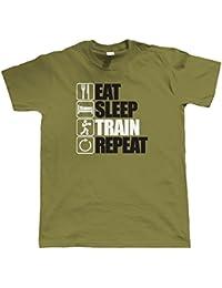 Vectorbomb, Eat Sleep Train Répétition T-Shirt (S à 5XL)