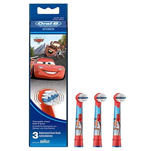 4 x Oral-B Topolino Stages Power Bambini Ricambio Spazzolino Elettrico Testine