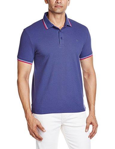United Colors of Benetton Men's Polo (8903975153523_16P3069J3118I_S_Deep Cobalt)