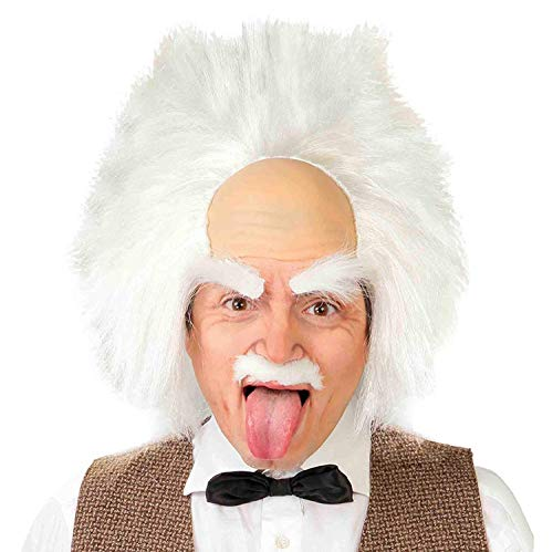 Guirca Fiestas GUI4877 - Einstein-Perücke (Box - Albert Einstein Fancy Dress Kostüm