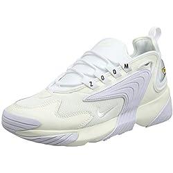 Nike Zoom 2k, Chaussures de course Homme - Multicolore (Sail/White/Black 100) - 44 EU