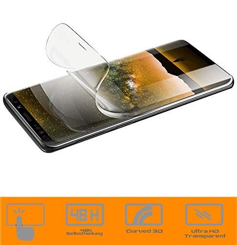 zanasta 3 Stück Schutzfolie kompatibel mit Nokia 8 Sirocco Bildschirmschutzfolie Nano Folie | Volle Abdeckung, Klar Transparent