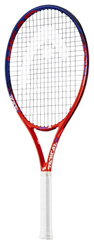 HEAD Kinder Radical Tennisschläger, Graphit / Komposit, Orange / Blau, 26-Inch (10+ Years) 26