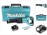 Makita DJR 186 M1K 18 V Li-Ion Akku Säbelsäge Reciprosäge im Transportkoffer - mit 1x BL 1840 4,0 Ah Akku, ohne Ladegerät