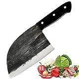 Coltello da cucina fatto a mano forgiato da chef Promithi, usato per disossare mannaia tritatutto per macellaio, coltello da taglio per affettare per uso domestico